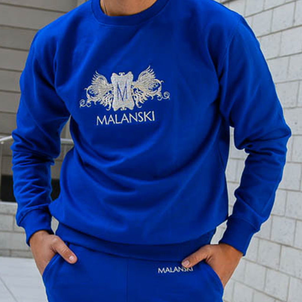 Mickey Angel Blue Sweater