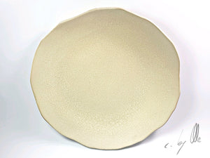 Cracked rustic Plate