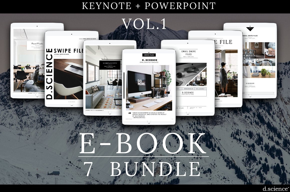 14 ebook templates for keynote and powerpoint 4