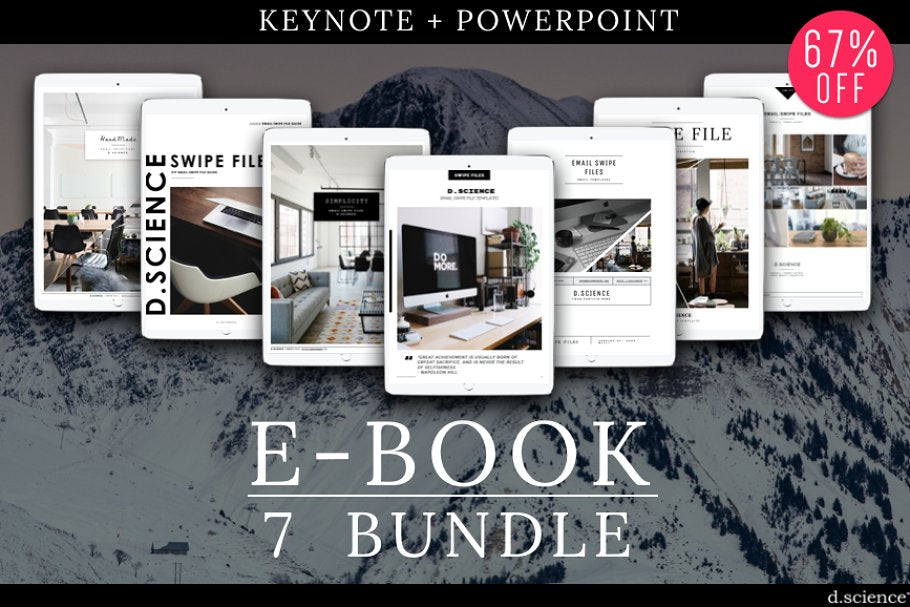 7 Ebook Template | Content Upgrade | Opt-in