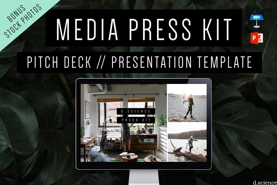 Media Kit Template | Press Kit Template