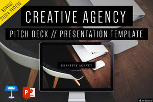 Creative Powerpoint Template Pitch Deck