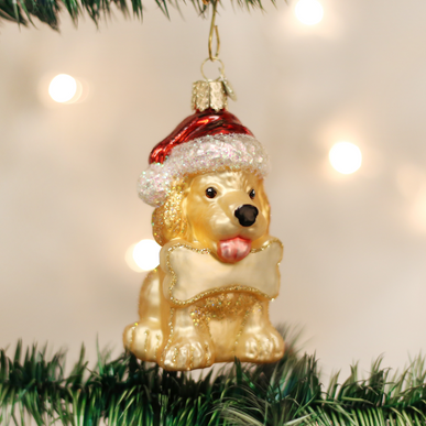 Jolly Pup Ornament