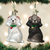 Assorted Poodle Ornament