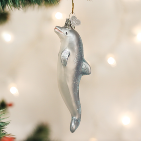 Playful Dolphin Ornament