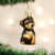 Yorkie Puppy Ornament