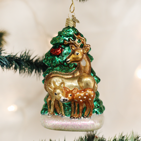 Deer Family Ornament