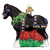 Black Clydesdale Ornament