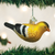 American Goldfinch Ornament