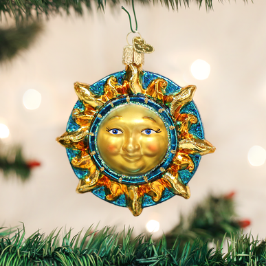 Fanciful Sun Ornament