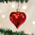 Large Shiny Red Heart Ornament