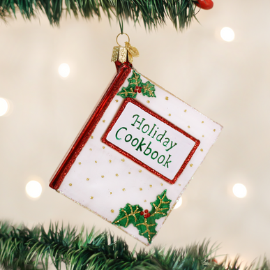 Christmas Cookbook Ornament