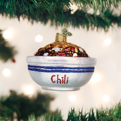Bowl Of Chili Ornament