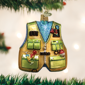 Fishing Vest Ornament
