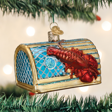 Lobster Trap Ornament