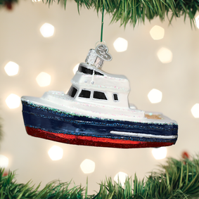 Charter Boat Ornament