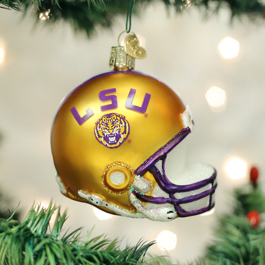 LSU Helmet Ornament