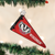 Wisconsin Pennant Ornament
