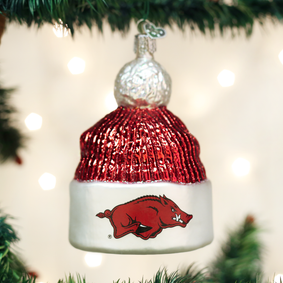 Arkansas Beanie Ornament