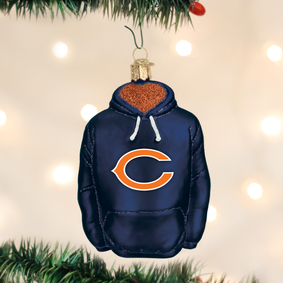 Chicago Bears Hoodie Ornament