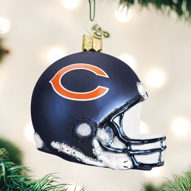 Chicago Bears Helmet Ornament