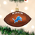 Detroit Lions Football Ornament
