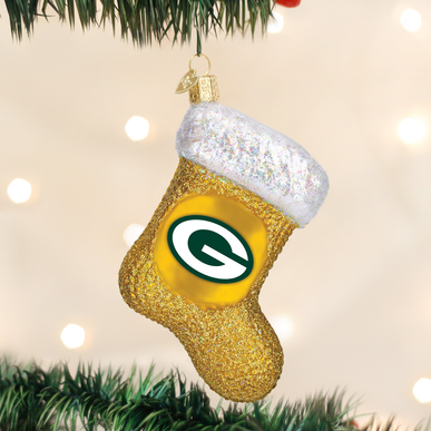 Green Bay Packers Stocking Ornament