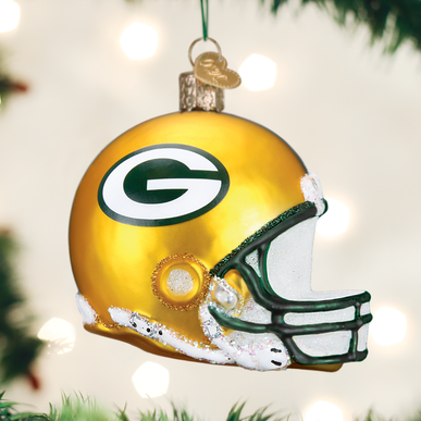 Green Bay Packers Helmet Ornament
