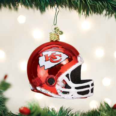 Kansas City Chiefs Helmet Ornament