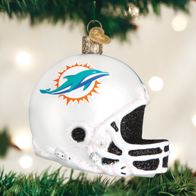 Miami Dolphins Helmet Ornament