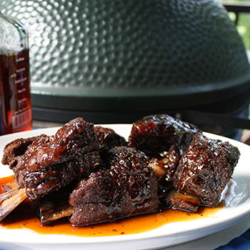 Maple Bourbon Beef Ribs