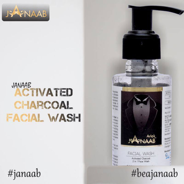 Janaab | Buy Charcoal Face Wash Online in India