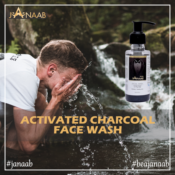 Janaab | Best Activated Charcoal Face Wash for Men in India