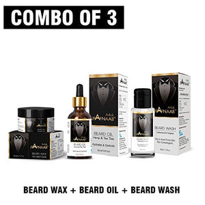 Janaab Beard Care kit (Beard oil, Beard wash and Beard wax)