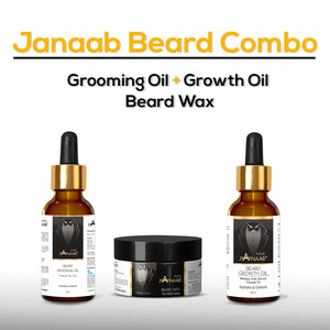 Janaab Beard Combo (Pack of 3)