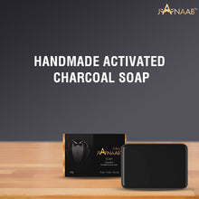Load image into Gallery viewer, Janaab Handmade Activated Charcoal Soap