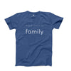Men's Family T-Shirt, Blue
