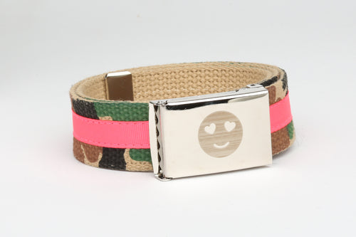 Kids Belt with Custom buckle