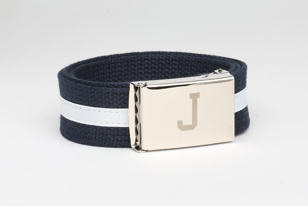 Mens Cotton Belt with Custom buckle