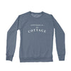 Women's Cottage Crew Sweatshirt, Heather Navy