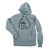 Unisex Barn Hoodie, Heather Grey