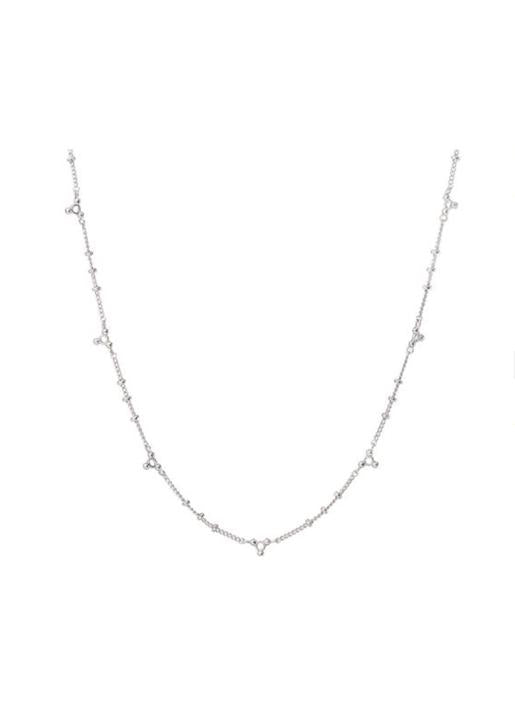 luv aj  Marrakech Chain Necklace Silver