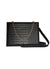 Ela Handbags  Croc Handbag with Chain and Strap