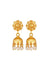 Carousel Jewels  Gold & Pearl Chandelier Drop Earrings
