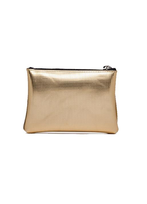 GUM by Gianni Chiarini  Large Numbers Clutch Bag - Gold