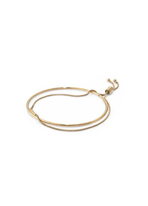 Jenny Bird  Thin Sadie Bangle Gold
