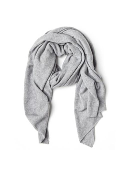 The Code Accessories  Cashmere Mini Wrap - Lt. Grey Heather