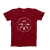 Men's Crest T-Shirt, Canada Red