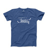 Men's Hockey T-Shirt, Blue