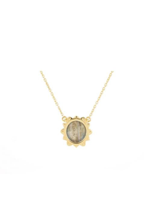 Be Maad  Malka Necklace Labradorite